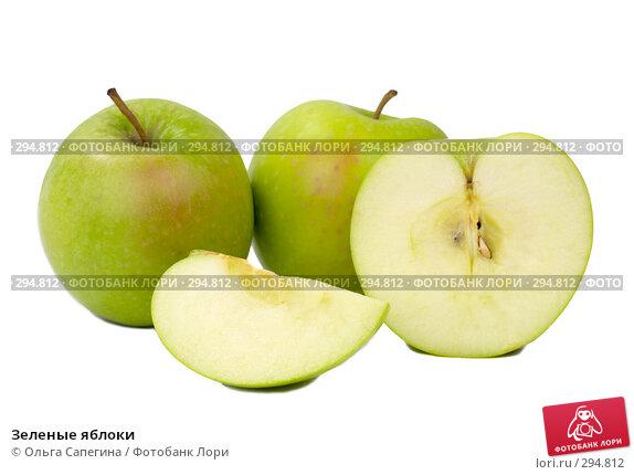 Зеленые яблоки, фото № 294812, снято 24 апреля 2008 г. (c) Ольга Сапегина / Фотобанк Лори