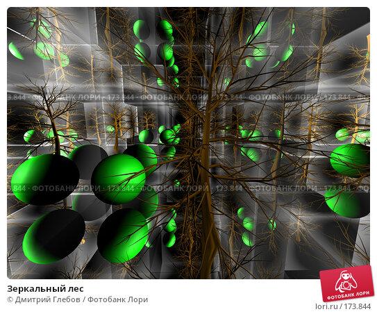 Зеркальный лес, иллюстрация № 173844 (c) Дмитрий Глебов / Фотобанк Лори