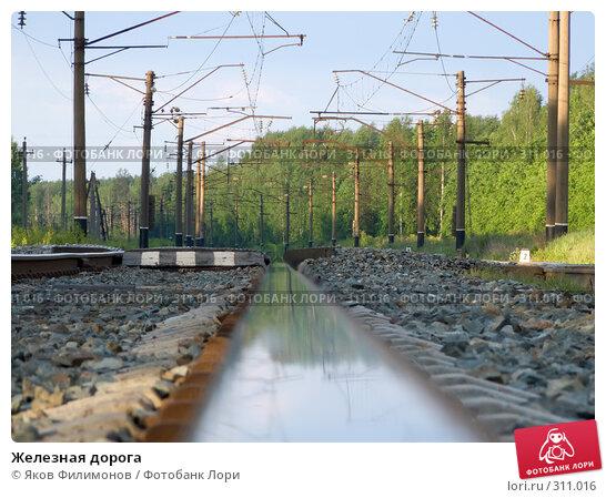 Купить «Железная дорога», фото № 311016, снято 29 мая 2008 г. (c) Яков Филимонов / Фотобанк Лори