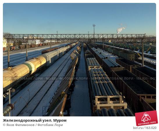 Железнодорожный узел. Муром, фото № 163020, снято 23 декабря 2007 г. (c) Яков Филимонов / Фотобанк Лори