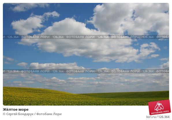 Купить «Жёлтое море», фото № 126364, снято 30 апреля 2007 г. (c) Сергей Бондарук / Фотобанк Лори