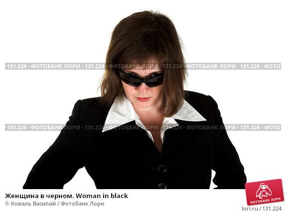 Купить «Женщина в черном. Woman in black», фото № 131224, снято 19 июля 2007 г. (c) Коваль Василий / Фотобанк Лори