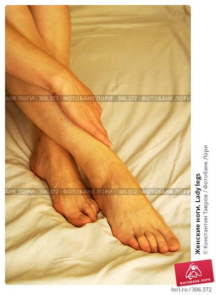 Женские ноги. Lady legs, фото № 306372, снято 6 декабря 2006 г. (c) Константин Тавров / Фотобанк Лори