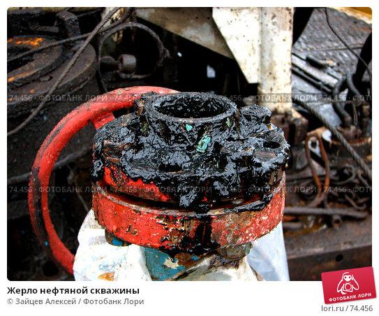 Жерло нефтяной скважины, фото № 74456, снято 20 июля 2007 г. (c) Зайцев Алексей / Фотобанк Лори