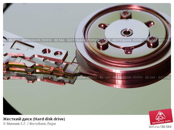 Жесткий диск (Hard disk drive), фото № 88584, снято 14 марта 2007 г. (c) Минаев С.Г. / Фотобанк Лори