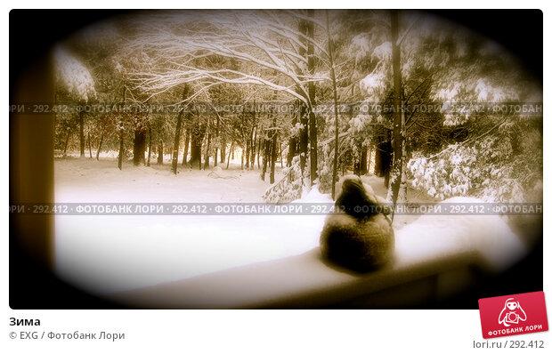 Зима, фото № 292412, снято 31 декабря 2007 г. (c) EXG / Фотобанк Лори