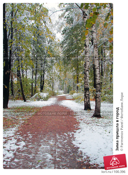 Зима пришла в город, фото № 100396, снято 16 октября 2007 г. (c) Parmenov Pavel / Фотобанк Лори