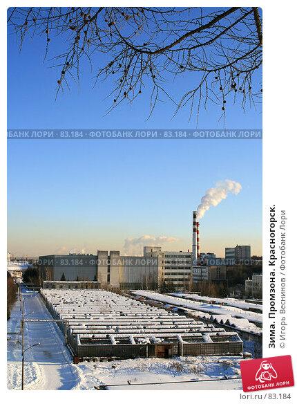 Зима. Промзона. Красногорск., фото № 83184, снято 25 февраля 2007 г. (c) Игорь Веснинов / Фотобанк Лори