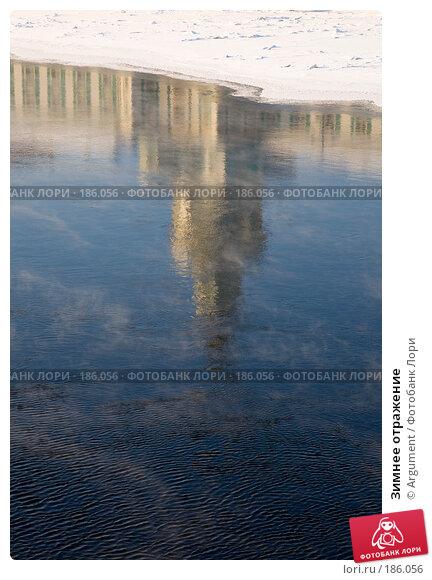 Зимнее отражение, фото № 186056, снято 9 февраля 2007 г. (c) Argument / Фотобанк Лори