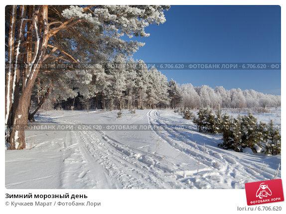Купить «Зимний морозный день», эксклюзивное фото № 6706620, снято 1 февраля 2014 г. (c) Кучкаев Марат / Фотобанк Лори