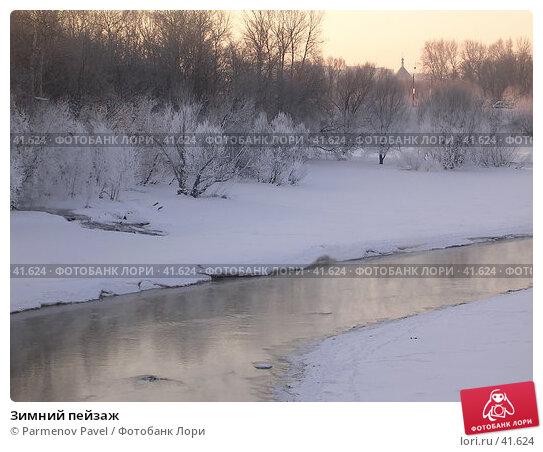 Зимний пейзаж, фото № 41624, снято 17 марта 2005 г. (c) Parmenov Pavel / Фотобанк Лори
