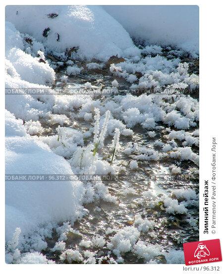 Зимний пейзаж, фото № 96312, снято 12 февраля 2007 г. (c) Parmenov Pavel / Фотобанк Лори