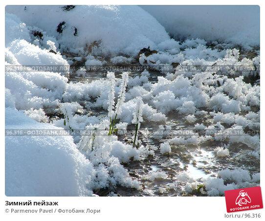 Зимний пейзаж, фото № 96316, снято 12 февраля 2007 г. (c) Parmenov Pavel / Фотобанк Лори