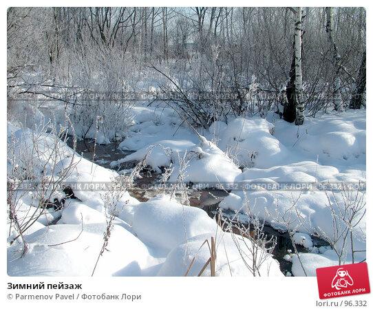 Зимний пейзаж, фото № 96332, снято 12 февраля 2007 г. (c) Parmenov Pavel / Фотобанк Лори