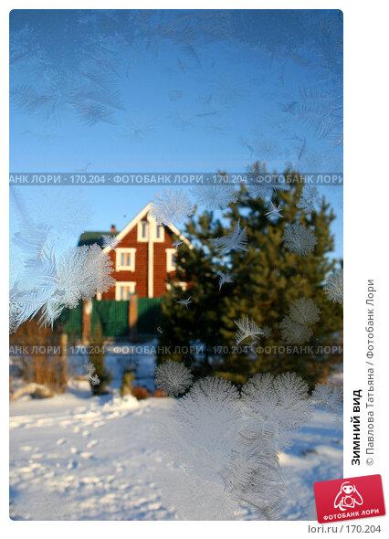 Зимний вид, фото № 170204, снято 3 января 2008 г. (c) Павлова Татьяна / Фотобанк Лори
