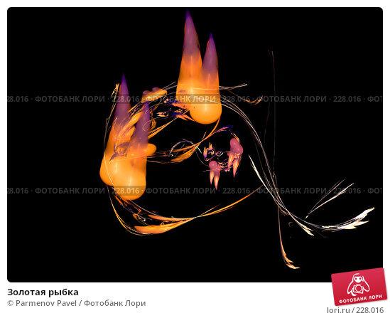 Золотая рыбка, иллюстрация № 228016 (c) Parmenov Pavel / Фотобанк Лори