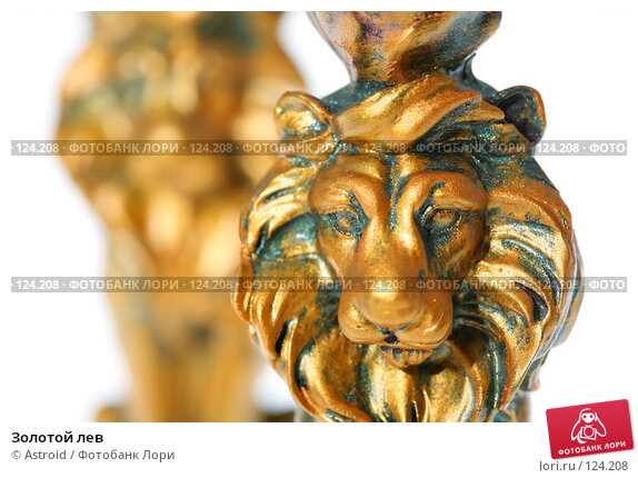 Купить «Золотой лев», фото № 124208, снято 26 октября 2007 г. (c) Astroid / Фотобанк Лори