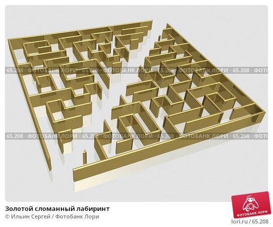 Золотой сломанный лабиринт, иллюстрация № 65208 (c) Ильин Сергей / Фотобанк Лори