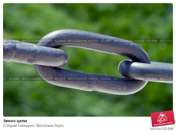 Звено цепи, фото № 63844, снято 13 июля 2007 г. (c) Юрий Синицын / Фотобанк Лори